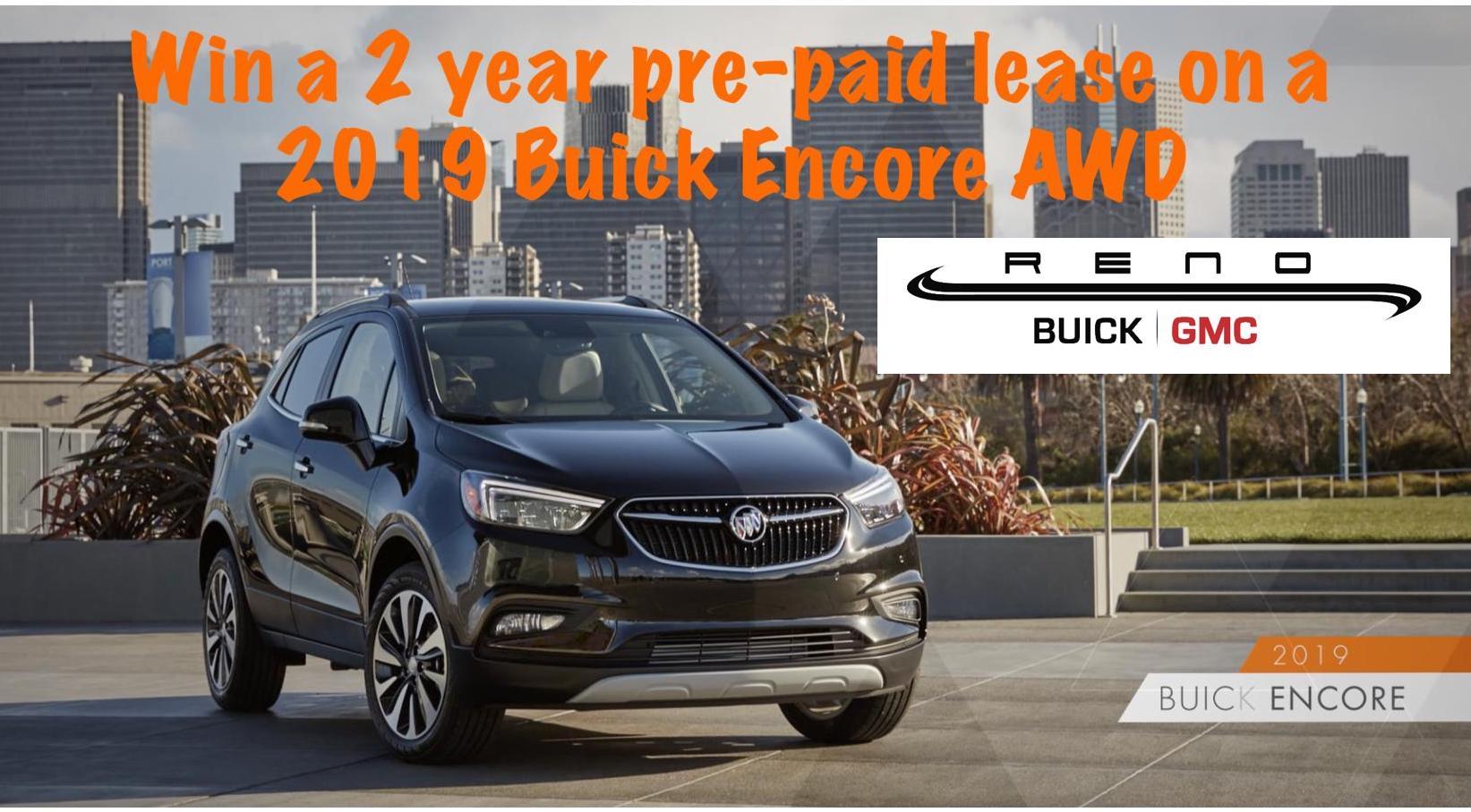 Win A 2019 Awd Buick Encore